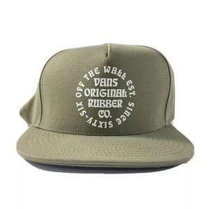 Vans Vintage Barrel Snapback Hat